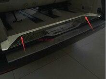 Interior Rear Bumper Protector threshold placa tampa do Peitoril Da Guarnição para Mercedes Benz Vito Viano Metris Valente V-Classe W447 2014-2016