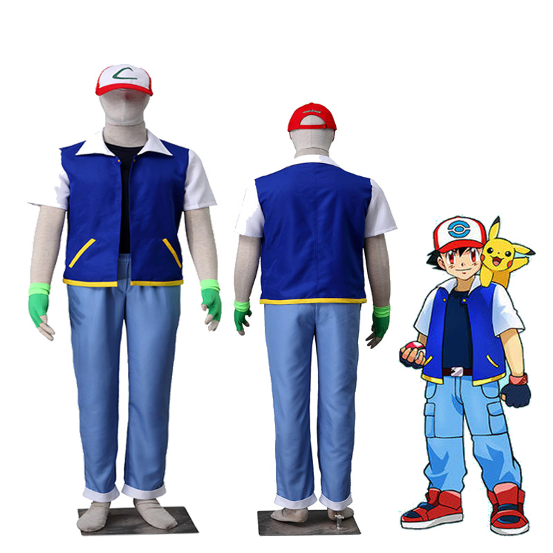 ash ketchum cosplay outfit