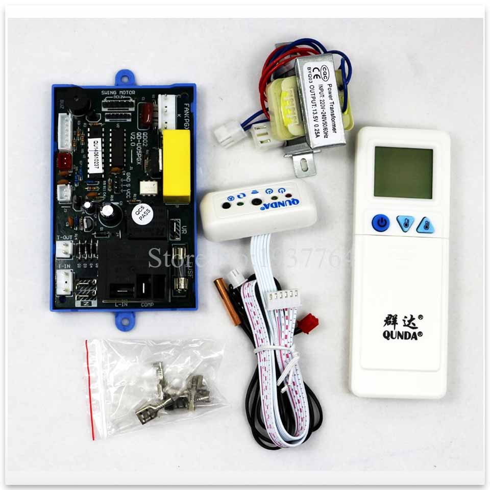 new good working High quality for air conditioner hanging computer control panel QD U05PGX QD02