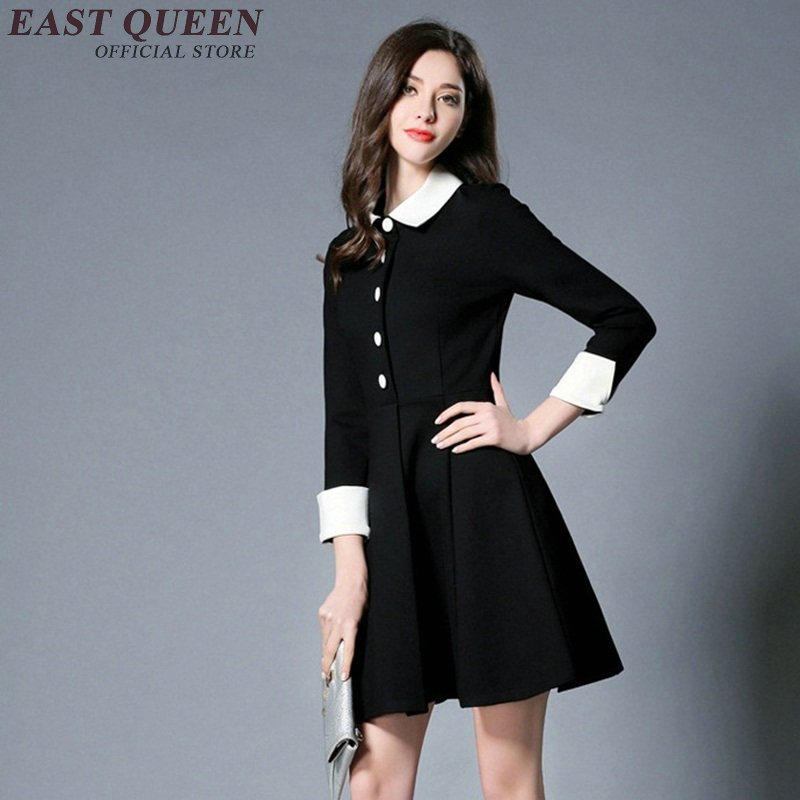 release date: 87f46 69d8d Vestito nero con il colletto bianco – Vestiti da cerimonia