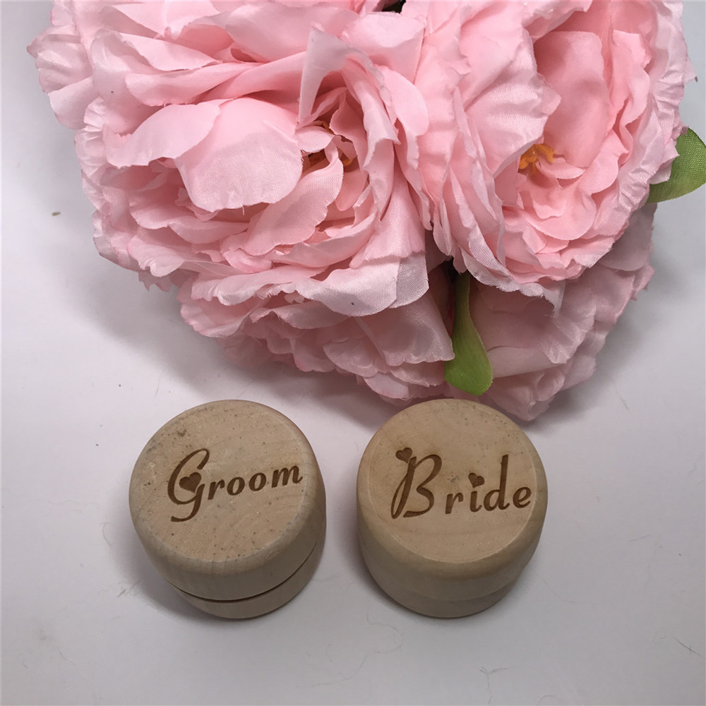 Custom Proposal Ring Box Set Bride and Groom Keepsake Ring Box ...