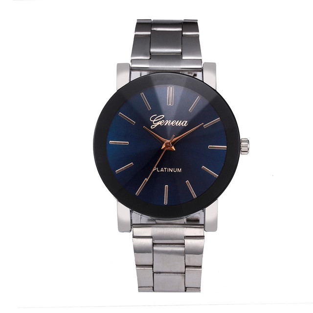 Women's Crystal Stainless Steel Quartz Watches Luxury Brand Wristwatch Dress Bra
