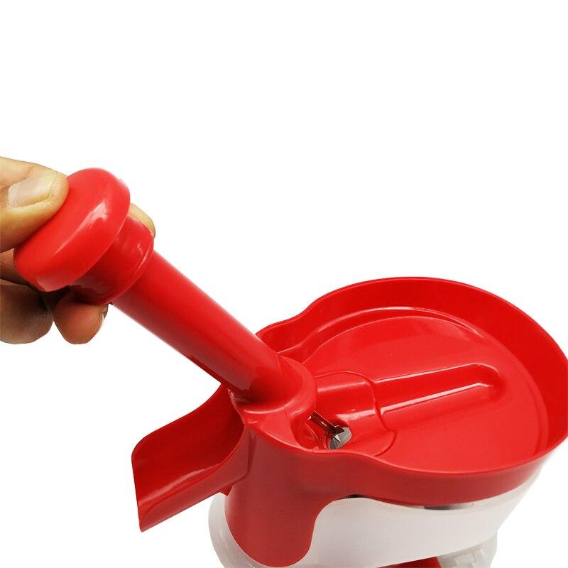 Cereja corer com recipiente cozinha gadgets ferramentas
