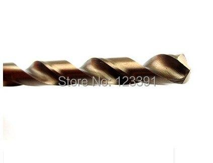 10PCS/SET 4.0mm diameter CNC grinded HSS M35 Co5% twist drill bits SS Drilling straight Shank for SS/steel/cast steel iron alum