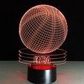 Novelty visual 3d acrílico nba basketball usb quarto iluminação da lâmpada de mesa luz conduzida da noite colorido gradiente lâmpada atmosfera gx092
