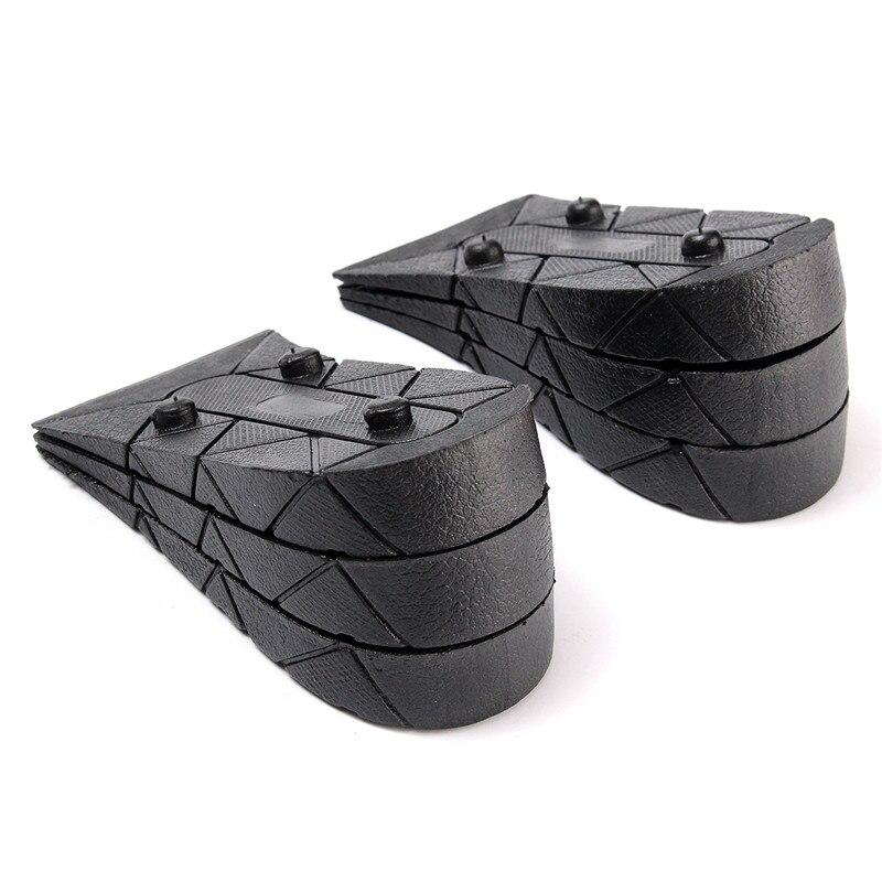 cdcf843475e3 1 Par 4 Camada de Salto Bota Air Cushion Aumentar A Altura Palmilhas Taller sapatos  Respirável Inserção Pad Descompressão Calçados Ortopédicos Arch em ...