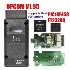 Image 2 - Opcom Firmware V1.59 V1.65 V1.70 V1.78 V1.95 V1.99 PIC18F458 + Ftdi Chip Op Com 1.99 Nieuwste Sw 2014 Op  com Voor Opel