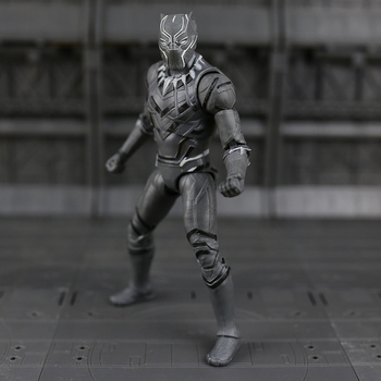 Disney Marvel 7 Legends Avengers Civil War Captain America Iron Man Black Widow Black Panther Falcon PVC Action Figure Toy action figures iron man