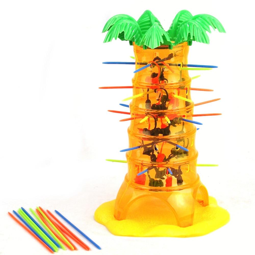 Niños diversión juguete Regalo de Cumpleaños niños chica caliente caída Tumbling familia mono escalada juguete tablero juego divertido Anti-estrés
