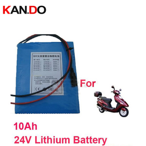 Для электрического велосипеда DC 24V литиевый аккумулятор 10000 Mah Емкость 10A 24V литиевая батарея 17 V-25,2 V выход и 20A ток