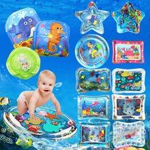 Надувная Детская воздушная подушка надувная плавающая детская