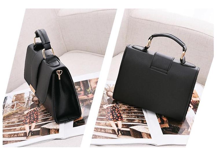 Women Bag Leather Handbags PU Shoulder Bag Small Flap Crossbody Bags for Women Messenger Bags 24