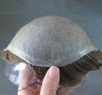 Eversilky 0,03 мм ультра тонкий трессы для Для мужчин база кожи v петлей волос Системы 1 шт.