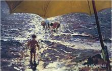wall art Midday at Valencia beach by Joaquin Sorolla y Bastida decor paintings Hand painted High quality