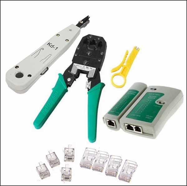 phone wiring tools house wiring tools by dhl or ems 10 pieces lan network tool set rj45 rj11 ...
