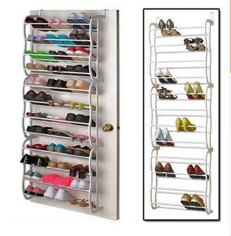 Adjustable Shoe Hanger/rack/shelf Hanging In The Back Of Door, Qualified  Quality