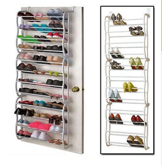 Adjustable Shoe Hanger/rack/shelf Hanging In The Back Of Door, Qualified  Quality, For Apartments, Dormitories, Etc. In Shoe Racks U0026 Organizers From  Home ...