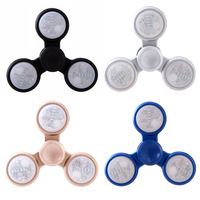 2017 LED Light Fidget Spinner EDC Hand Spinner For Autism And ADHD Anxiety Stress Toys Stress