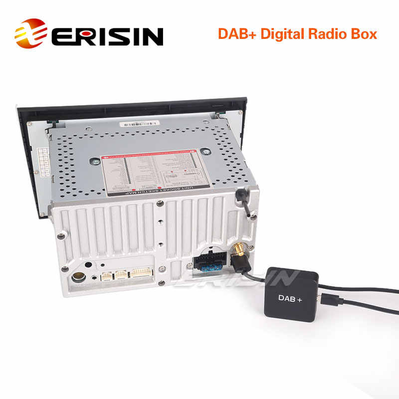 Erisin ES354 Dab + Digitale Autoradio Antenne Mcx Versterkte Antenne Voor Android 5.1/6.0/7.1/8.0 autoradio