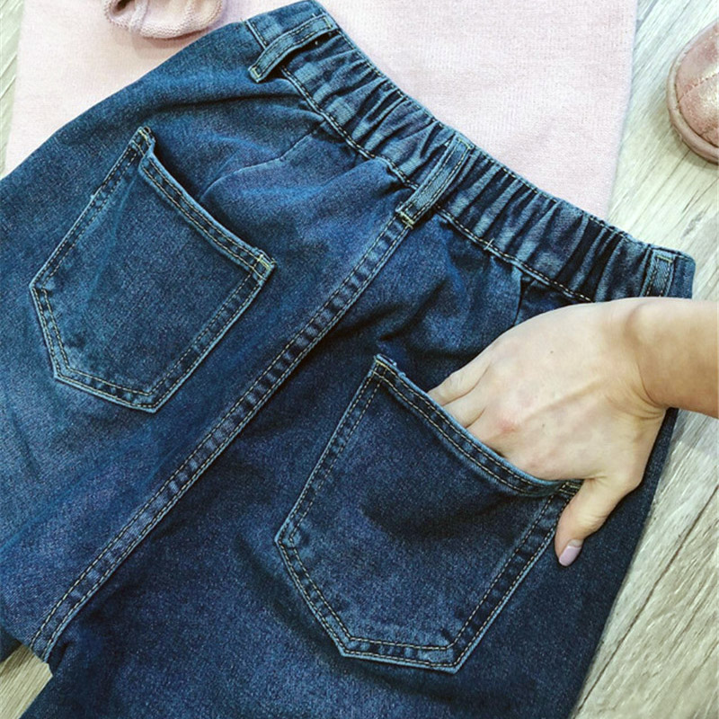 GCAROL New Collection Women Pencil Denim Pants High Waisted High Street Boyfriend Style Jeans In 3