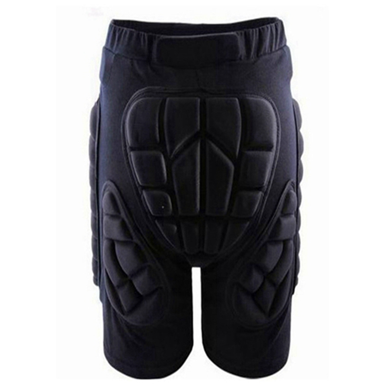 Black Kids Adult Men Women Protective Hip Butt Pad Short Pants Ski Skate Snowboard Size M L XL XXL XXXL Outdoor Sports