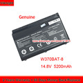 Genuino W370BAT-8 (SIMPLO) 6-87-W37SS-427 W350ET Batteria per Clevo W370ET W350ETQ W370SK K590S K650C K750S W350ST W35XSS-370SS
