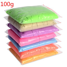 100G/bag kinetic sale dynamic educational Amazing No-mess Indoor Magic Play Sand Children toys Mars Color space