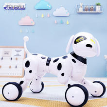 Wireless Remote Control Smart Robot Dog Wang Xing Electric Cat Sing Dance Talking Pet Toy Early Educational Toys For Children(China)