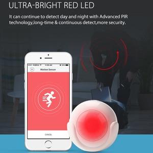 Image 5 - NEO COOLCAM Sensor de movimiento PIR inteligente WiFi, Detector de cuerpo humano, sistema de alarma de casa, Sensor PIR de movimiento inteligente, Tuya Smart Life