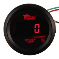 Brand New Car Auto Motor 2 Inch 52mm Red Digital Water Temp Gauges Temperature Celsius Gauge