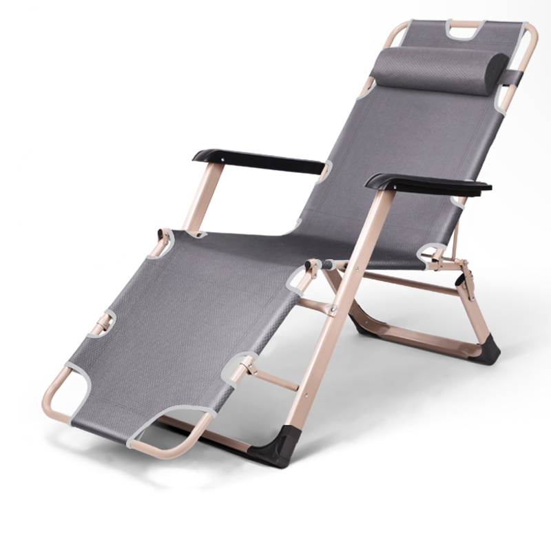 Здесь можно купить  Heavy Duty Folding Chair Portable Garden Furniture Versatile Chaise Lounge Metal Frame Foldable Single Bed/Cot for Camping  Мебель