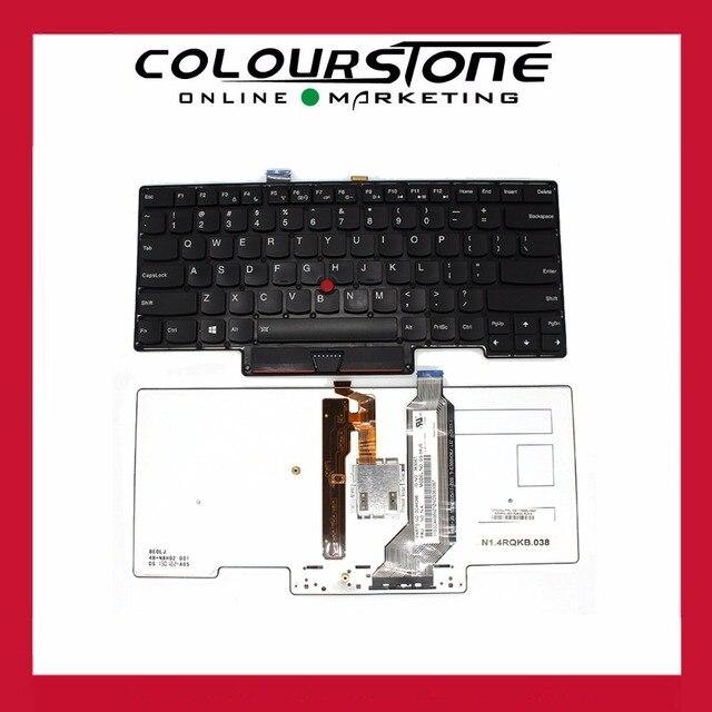 Nouveau NOUS clavier rétro-éclairé pour ordinateur portable Dorigine Pour Lenovo Thinkpad Pour IBM X1 Carbone 1ST 2013 Gen MT 3443 3444 3446 3448 3460 3462 3463