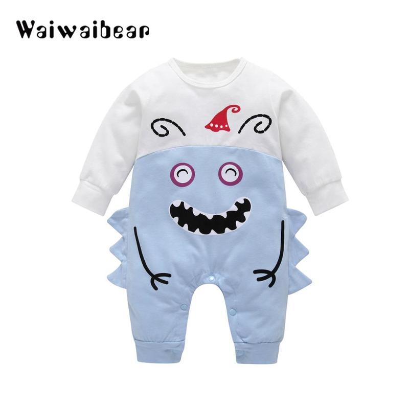 Baby Rompers Newborn Clothes Toddler Long-Sleeved  Jumpsuit Halloween Costumes For Boy Girl Clothing