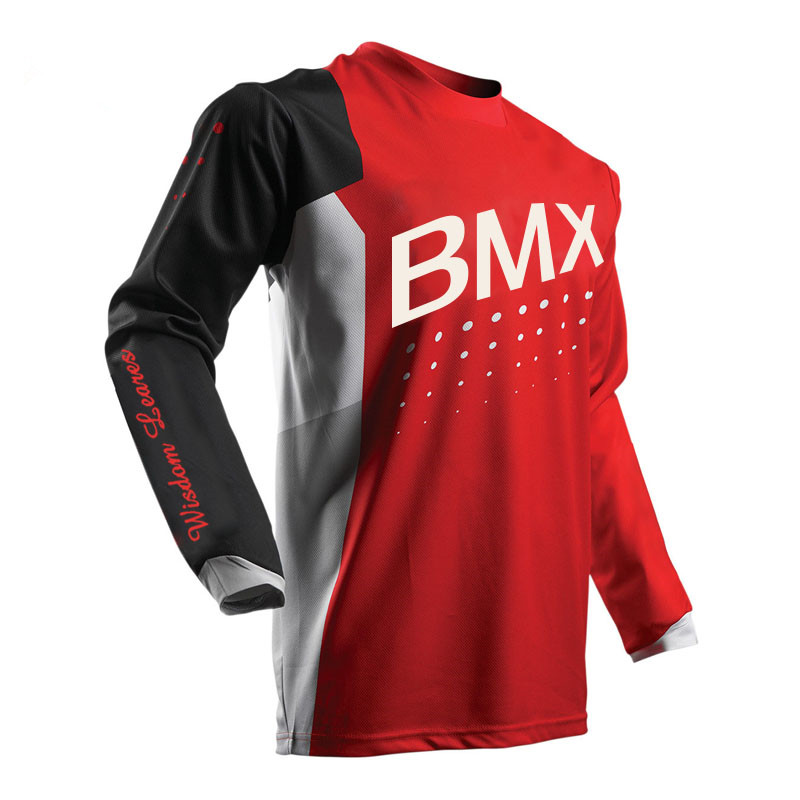 2017 Latest design New style colorful high quality wholesale motocross racing jerseys MX MTB Motocross Mx Mtb Dh Mountain Down 1