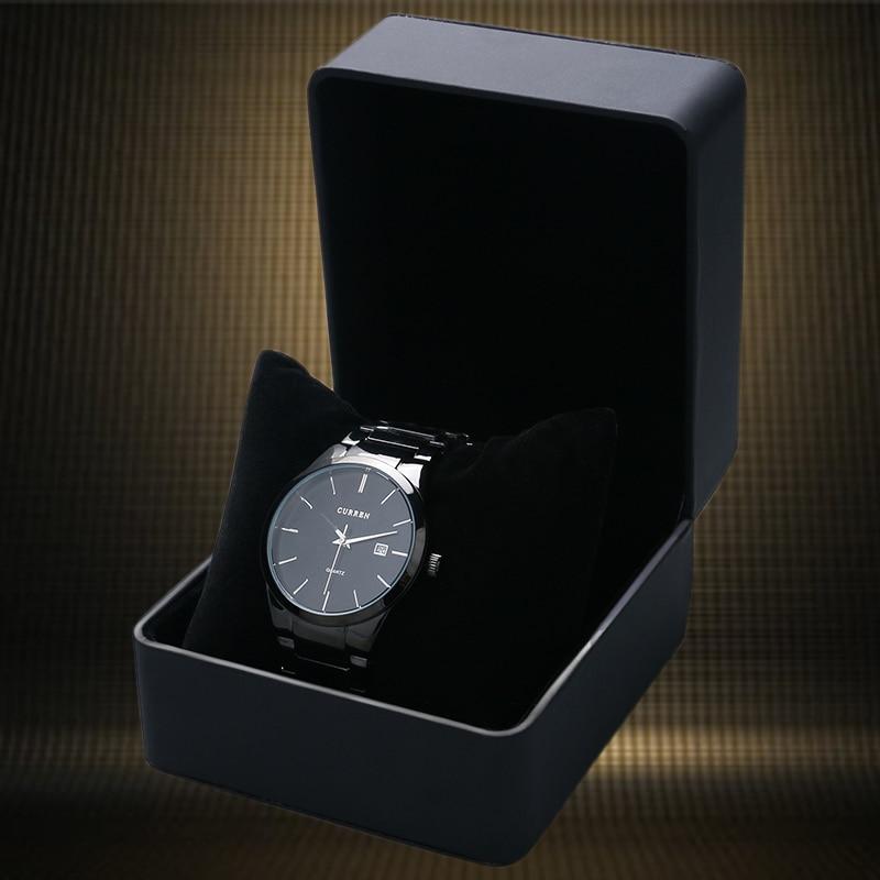 2017 Leatherette Watch Box Fashion զարդերի տուփ Ներկայացված նվերների տուփեր Անվճար առաքում և մեծածախ ժամացույց չկա