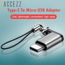 !ACCEZZ OTG Adapter Type C Male To Micro USB Female Converter For LG G5 G6 Xiaomi Mi 6 5 Fast Charging Data Sync USB Connector usb male to micro usb male data charging cable for lg nexus 5 e980 more purple 300 cm