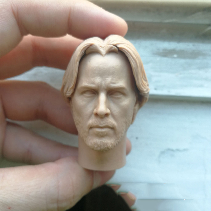 1 6 Keanu Reeves Unpainted Head for 12 39 39 Action Figures in Action amp Toy Figures from Toys amp Hobbies
