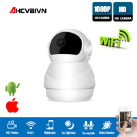 AHCVBIVN Smart Wifi IP Camera 360 Degree Panoramicview Wireless Camera Full HD Home Security H.264 Two Way Audio CCTV Camera