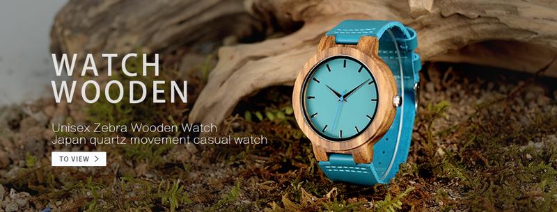 mens bobo bird wood watches