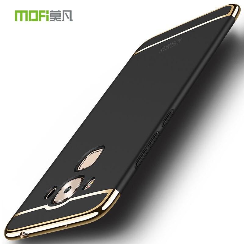 Asus Zenfone 3 Max ZC553KL Case Mofi 3 in 1 Metal Plastic Full Hard Back Cover Camera protection Luxury Cases For Asus ZC553KL