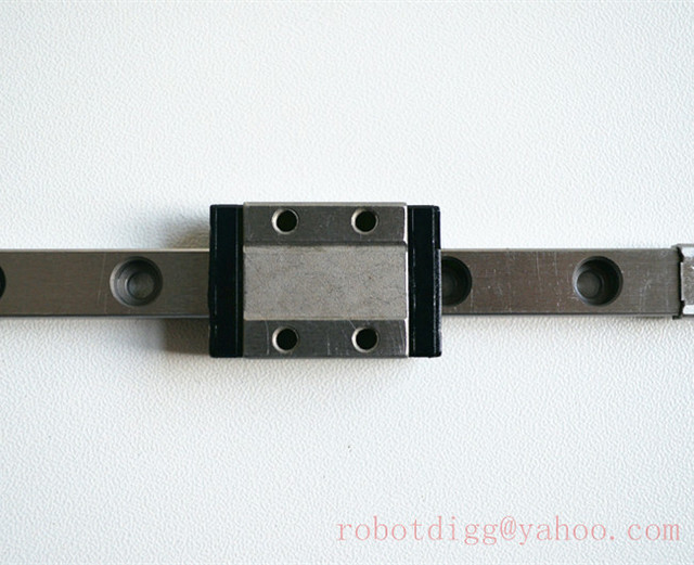 Free Shipping 1pcs 200mm Length Quality SS MGN9-200 linear rail w/ carriage use for 3DPrinter