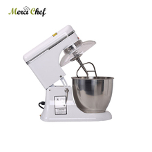 Food Machine 7.5L Raisable head electric large industrial food mixer dough mixer egg beater Household and Commercial Using nurhan dunford turgut food and industrial bioproducts and bioprocessing