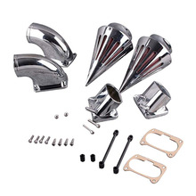 For 06-12 Suzuki Boulevard M109 R VZR 1800 Spike Cone Motorcycle Air Cleaner Intake Filters Kit Accessories 2006 2007 2008-2012
