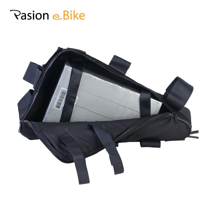 Pasion Ebike 52 В 20.3ah Батарея аккумуляторного батареек с треугольным аккумулятором для батареек с батареей 52В с 5А зарядным устройством и сумкой д