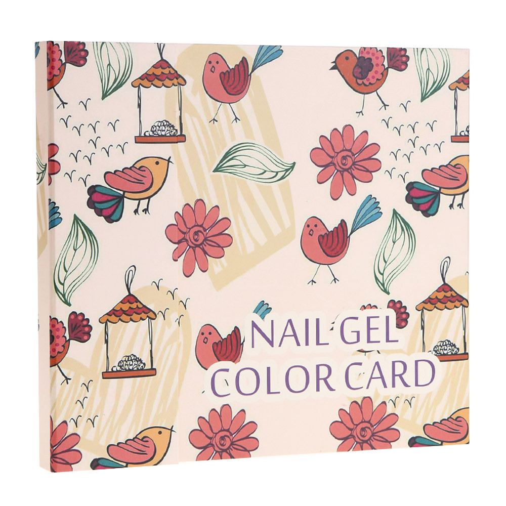 Gel Nail Polish Display Box 120 Color Model Salon Shop Dedicated Card Chart   F912Gel Nail Polish Display Box 120 Color Model Salon Shop Dedicated Card Chart   F912