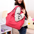 Wholesale Women Casual Canvas Tote Handbag bag
