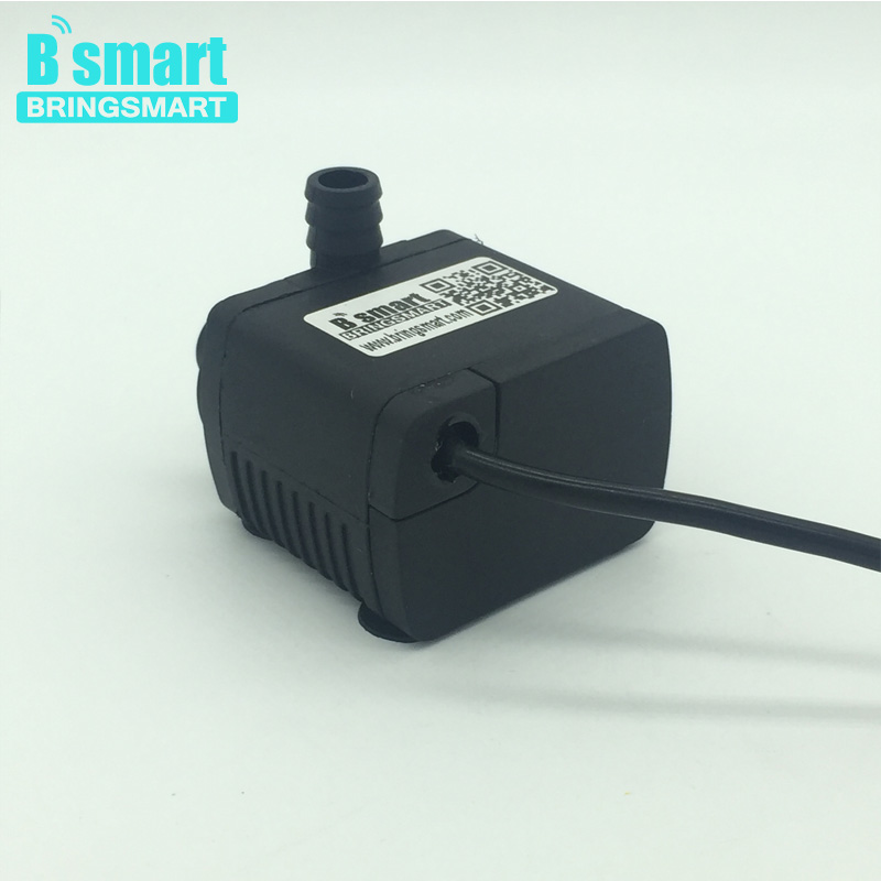 JT-280AT Micro DC Brushless Submersible Water Pump 12v Circulating Computer Cooling Pumps Solar Fountain Pump 24v Free shipping bringsmart jt 280at 12v dc brushless submersible water pump 24v circulating computer cooling pumps free shipping