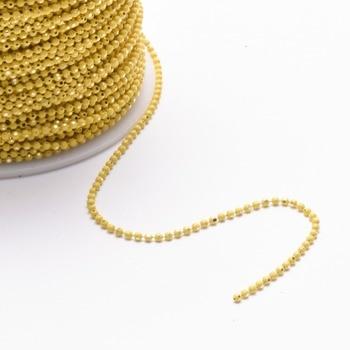 GUFEATHER C31,DIY Bead Chain, Bracelet Anklet Necklace 5