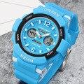 Ohsen crianças relógios militar moda esporte dos miúdos de quartzo meninos e meninas do aluno led relógio digital relógios de pulso relogio relojes