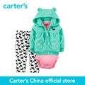 Carter's do bebê dos miúdos das crianças do Velo Cardigan Conjunto 121G767, vendido por carter oficial da China loja